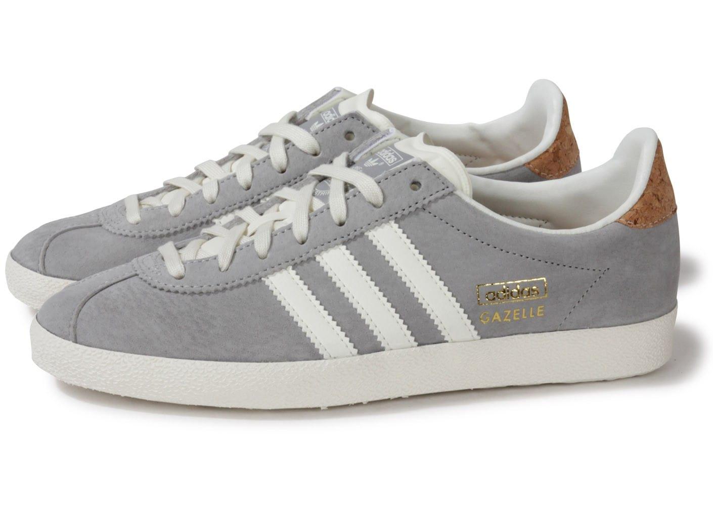 basket adidas gazelle grise homme