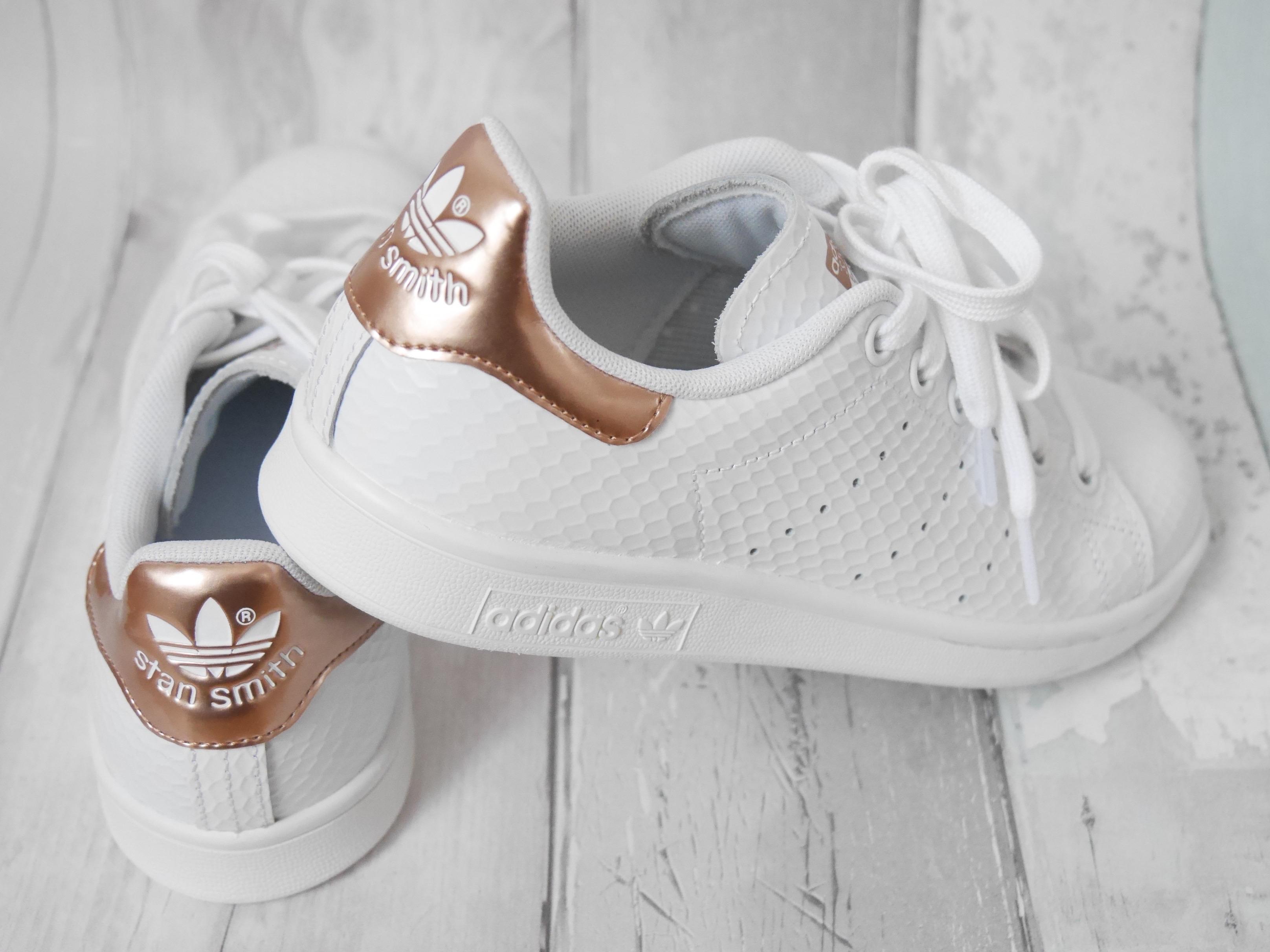 adidas stan smith femme gold