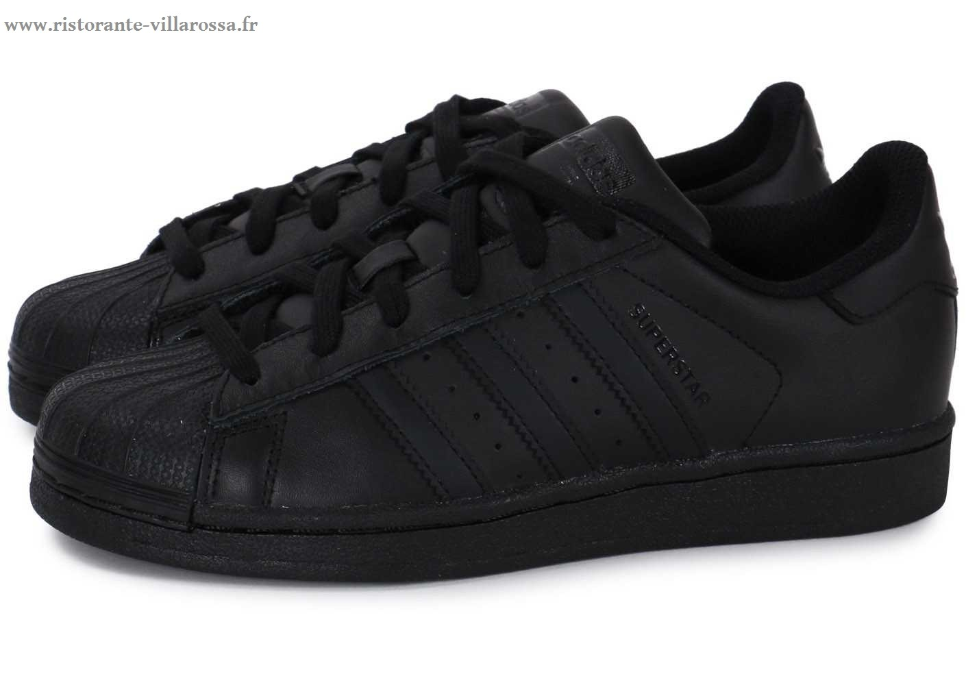 taille 40 30434 fdaab adidas superstar foundation noir femme