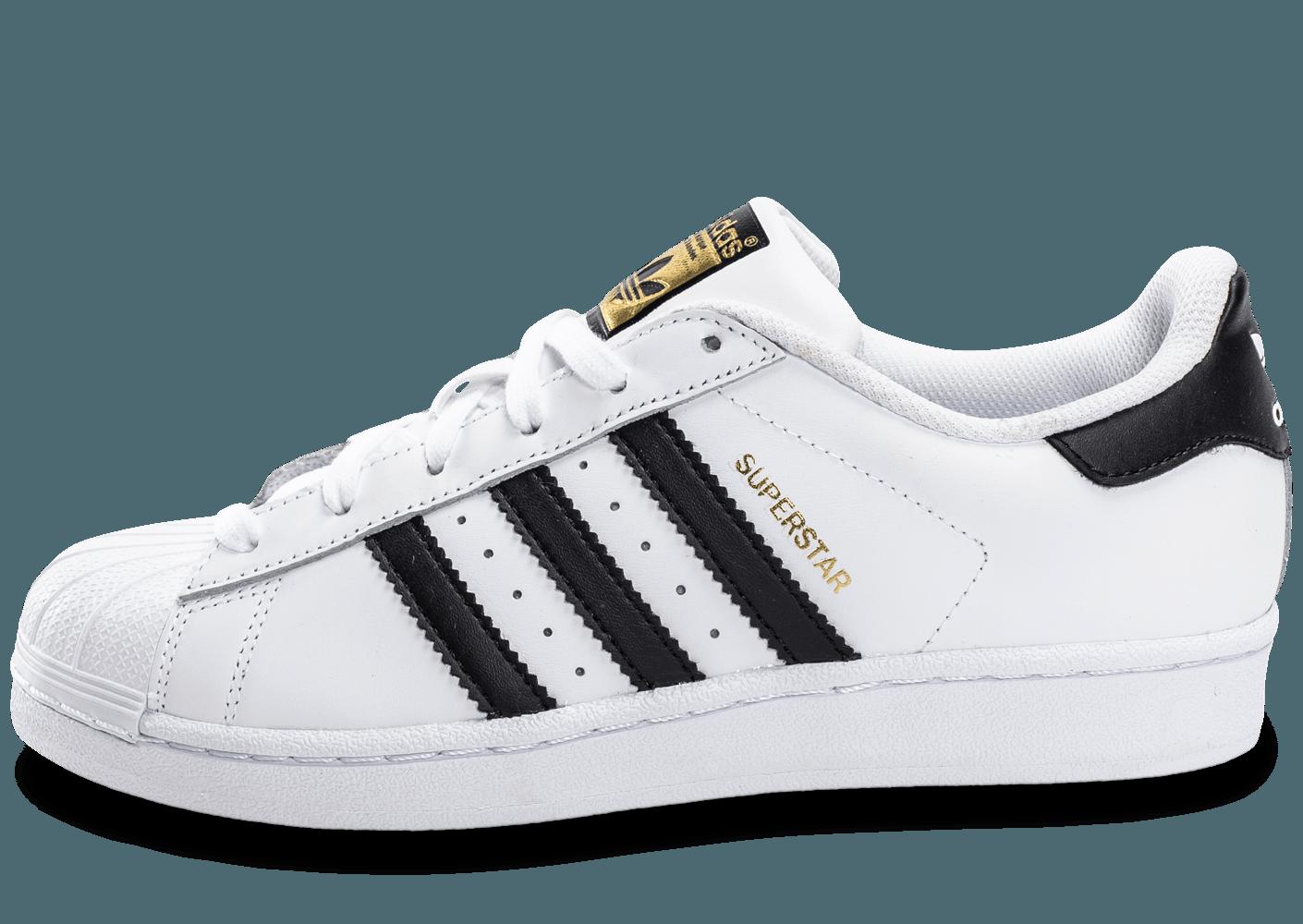 adidas superstar noir ligne blanche
