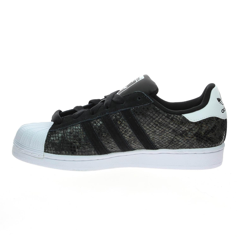 détaillant en ligne 7e8ff e5d22 adidas superstar snake noir femme